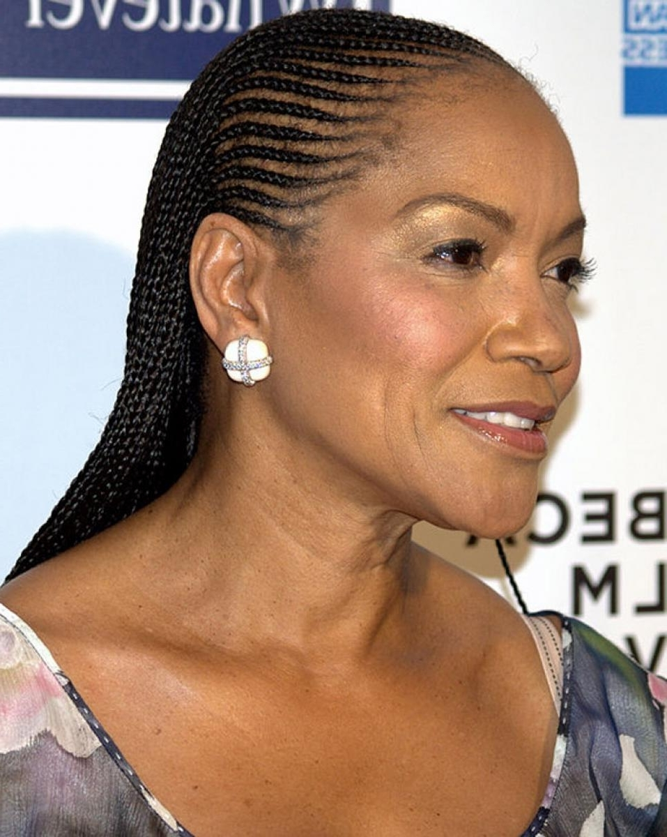 Well Liked Braided Hairstyles For Women Over 50 Regarding Pictures Of Braided Hairstyles For Black Women Over (View 8 of 15)