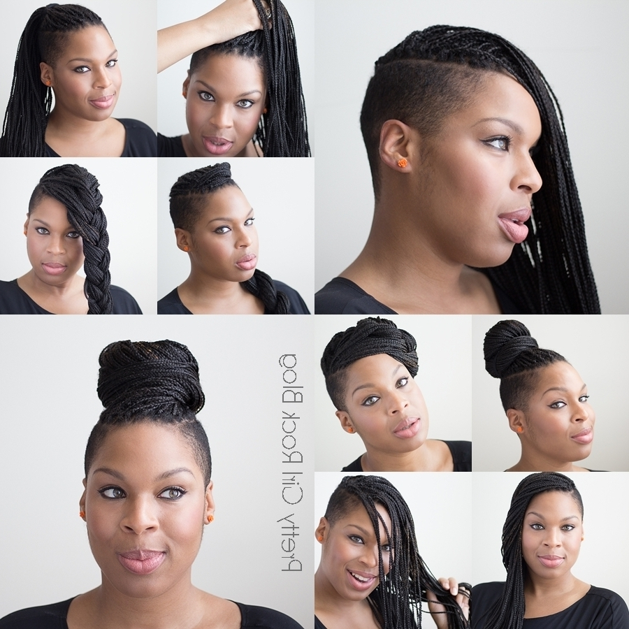 Well Liked One Side Shaved Braided Hairstyles For Protective Styling: Braided Styles For Shaved Sides (Gallery 13 of 15)