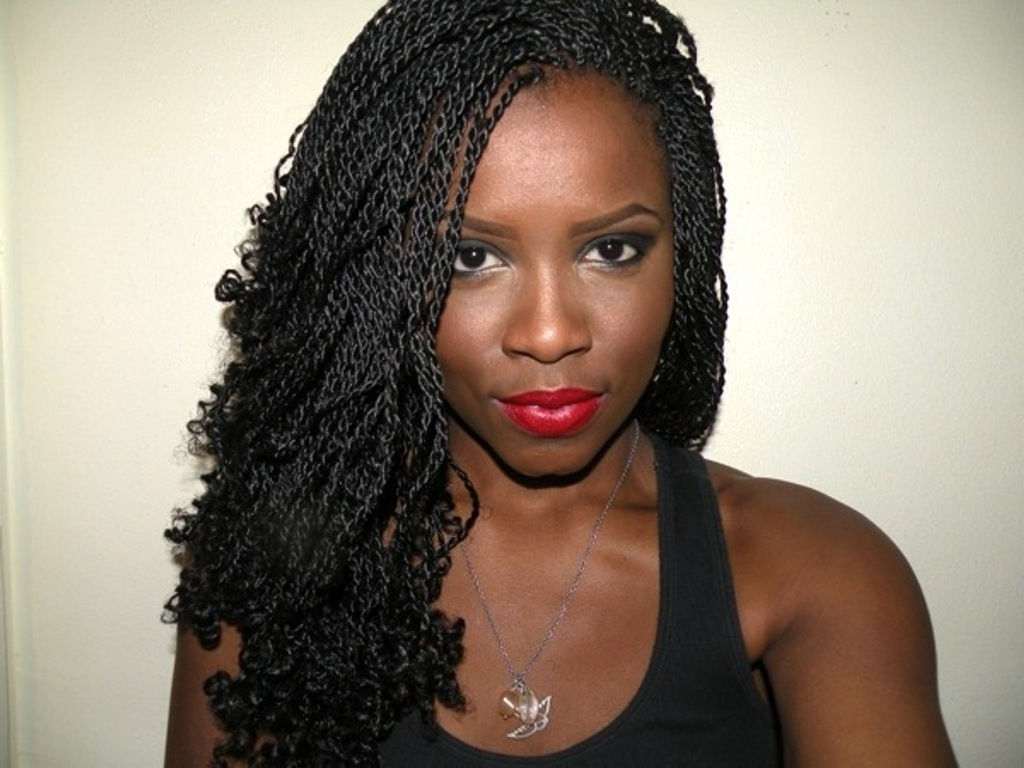 Well Liked Twist Braided Hairstyles Throughout Styles For Women Curly Braids Hairstyles Dreaded Twist Braid Black (View 14 of 15)
