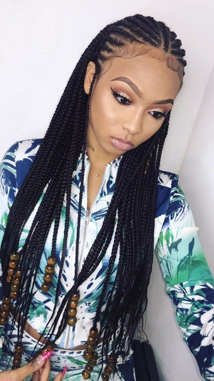 What's Not To Love About These 30 Cornrow Braids Hairstyles Within Well Known Cornrows Braid Hairstyles (View 3 of 15)
