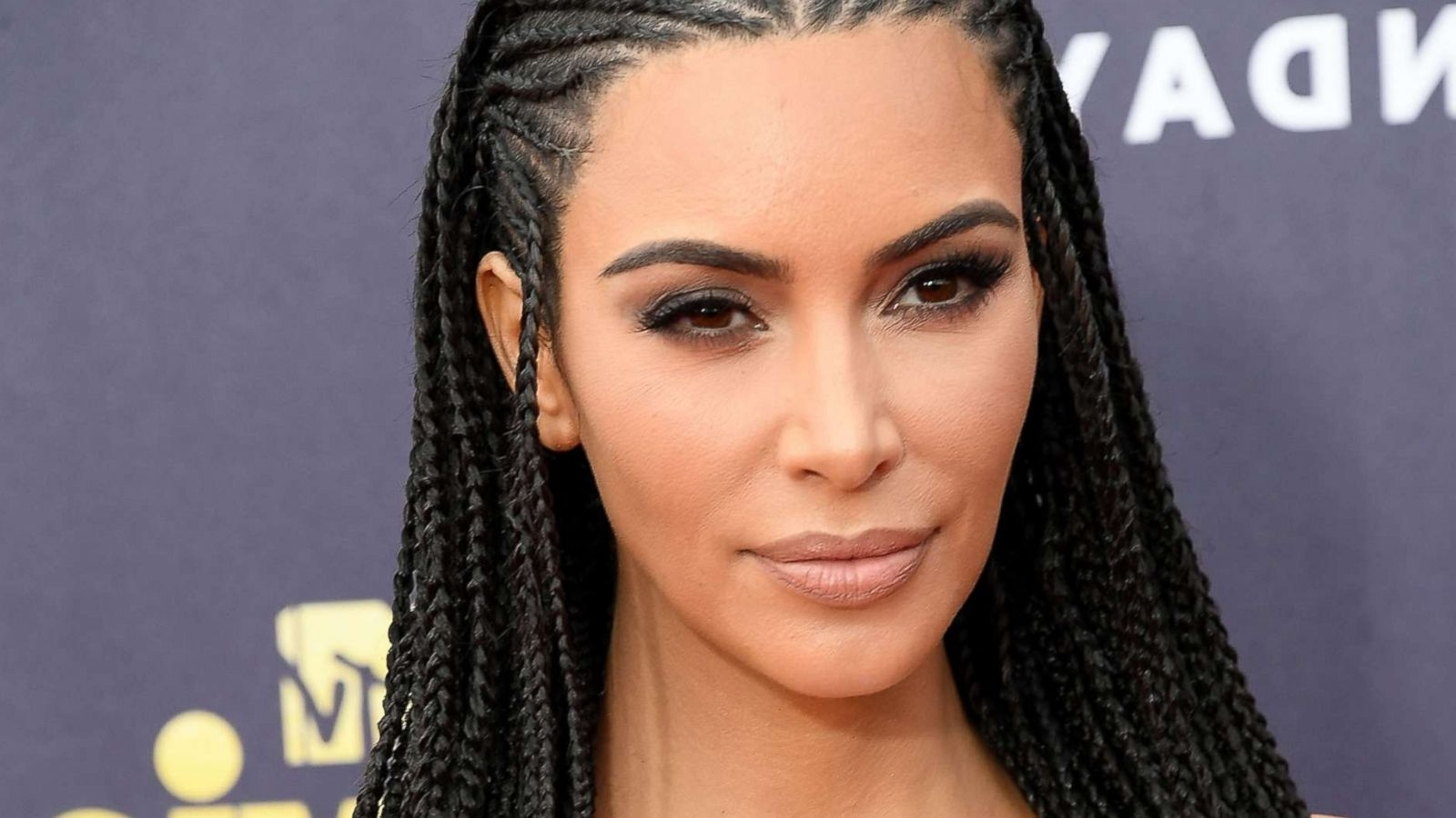 Widely Used Kim Kardashian Braided Hairstyles Within Kim Kardashian West Defends Wearing Braids, Says It's 'cultural (View 15 of 15)