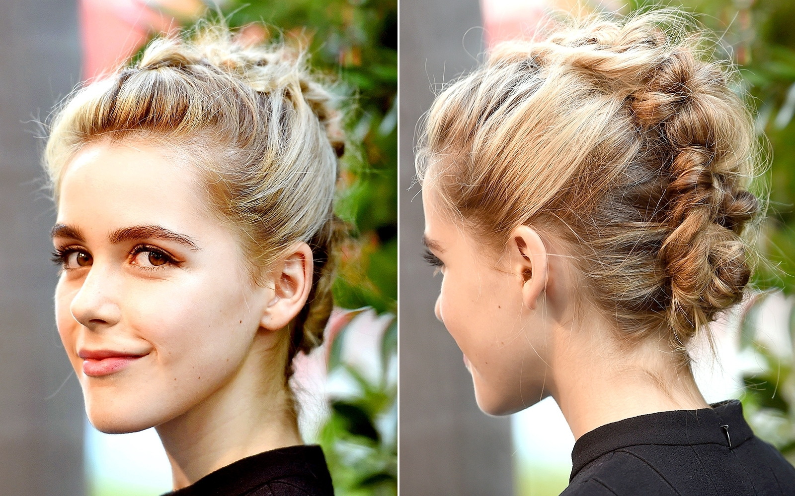 Widely Used Red Carpet Braided Hairstyles For Celebs' Braided Hairstyles On The Red Carpet (View 15 of 15)