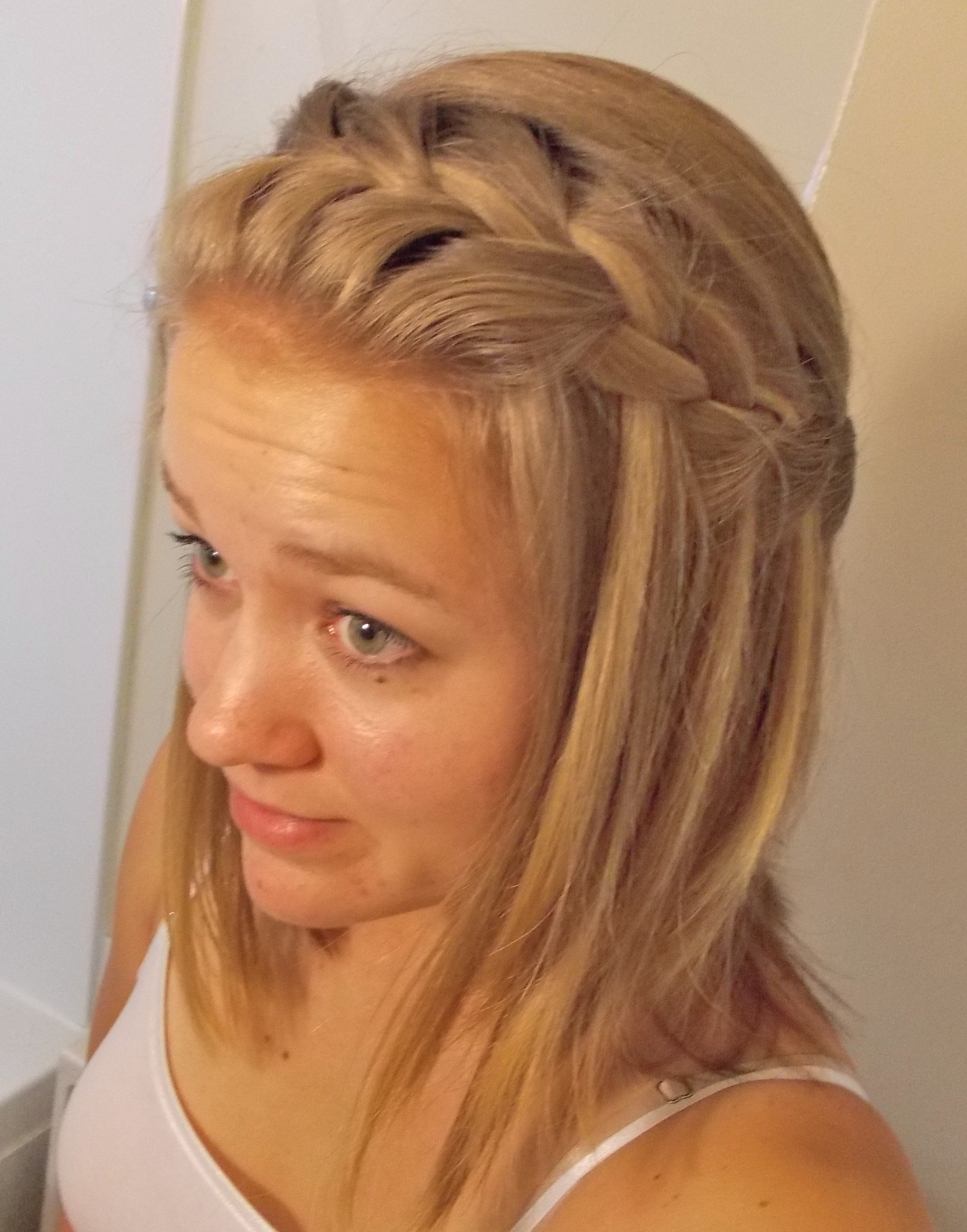 Widely Used Shoulder Length Hair Braided Hairstyles Within Adorable Braided Hairstyles For Shoulder Length Hair Also Waterfall (View 11 of 15)