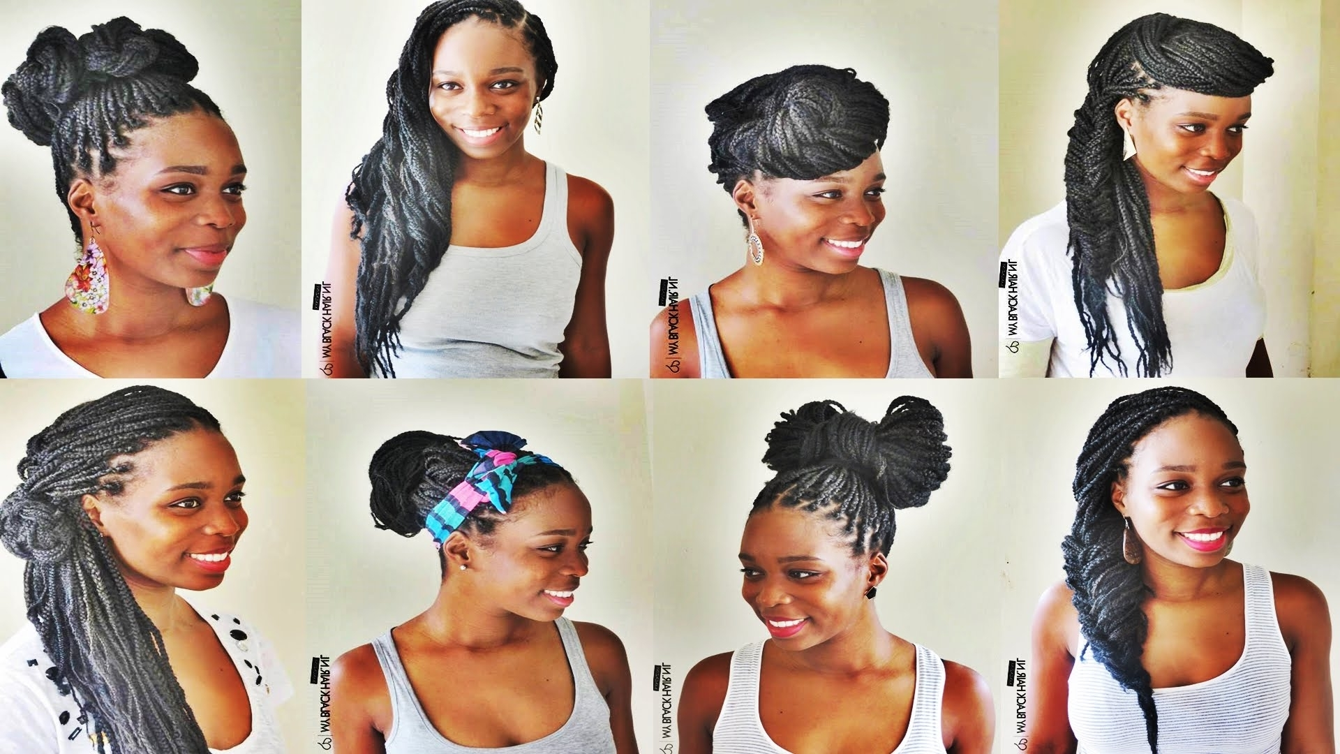 Wow Really Awesome Latest Braids Hairstyles For African American Pertaining To Most Recent Braided Hairstyles For Kenyan Ladies (View 6 of 15)