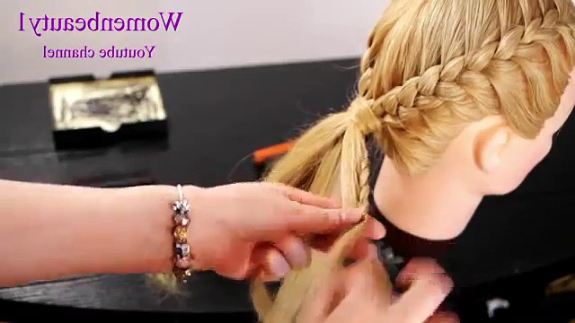 10 Easy Quick Everyday Hairstyles For Long Hair : Side French Braid For Most Recently Released Simple French Braids For Long Hair (View 1 of 15)