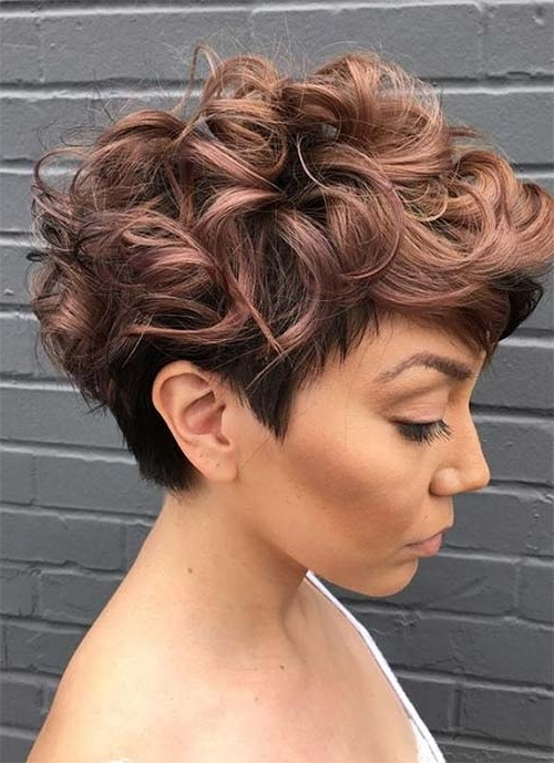100 Short Hairstyles For Women: Pixie, Bob, Undercut Hair (View 1 of 15)