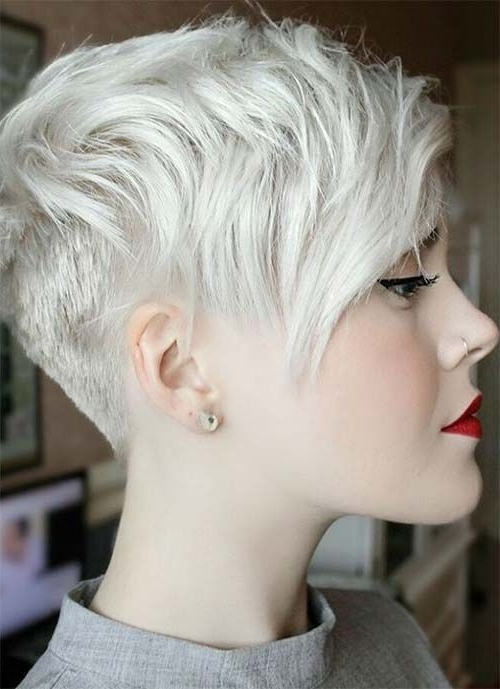 100 Short Hairstyles For Women: Pixie, Bob, Undercut Hair For Newest Tousled Pixie With Undercut (View 1 of 15)