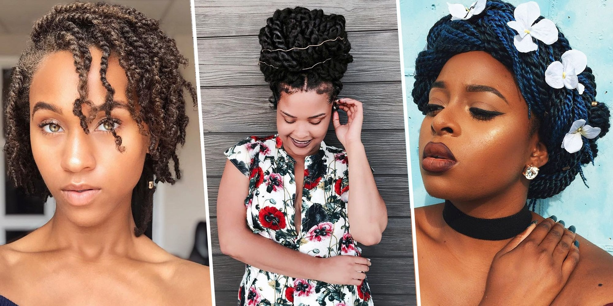 12 Best Twisted Hairstyles – Protective Hairstyles For Natural Hair With Most Recently Released Super Long Dark Braids With Cuffs (View 10 of 15)