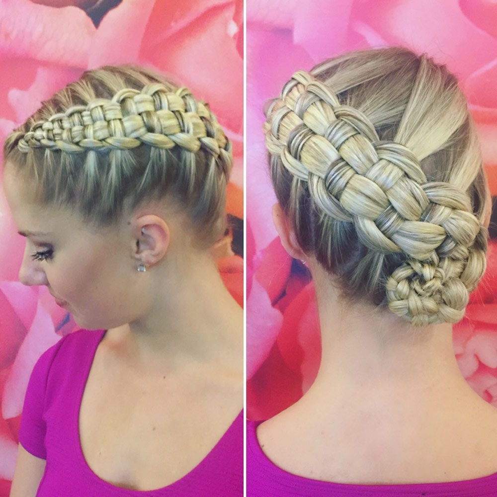 14 Braids That Are Mesmerizing Af In Well Known Zipper Braids With Small Bun (View 1 of 15)