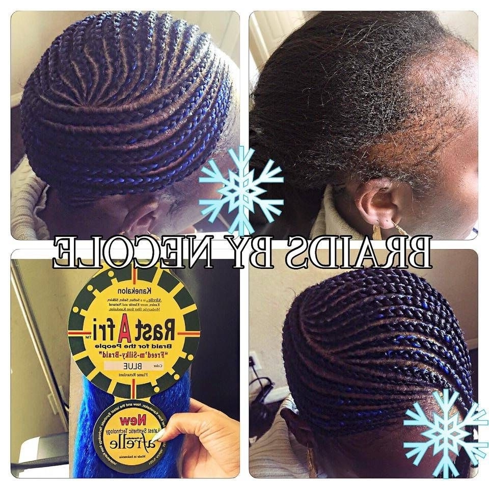 14 Extraordinary Alopecia Camouflage Cornrowsbraidsnecole Regarding Fashionable Cornrows Hairstyles For Thin Edges (View 2 of 15)