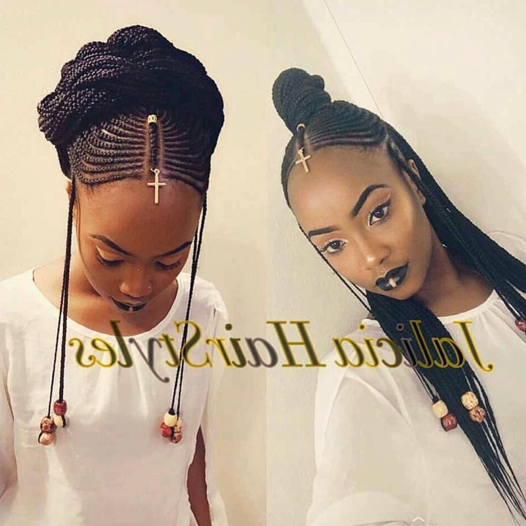 14 Fulani Braids Styles To Try Out Soon Within Trendy Jalicia Cornrows Hairstyles (View 1 of 15)
