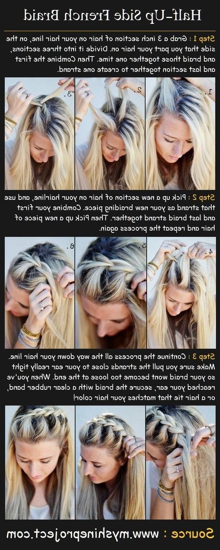 15 Braided Bangs Tutorials: Cute, Easy Hairstyles (View 14 of 15)