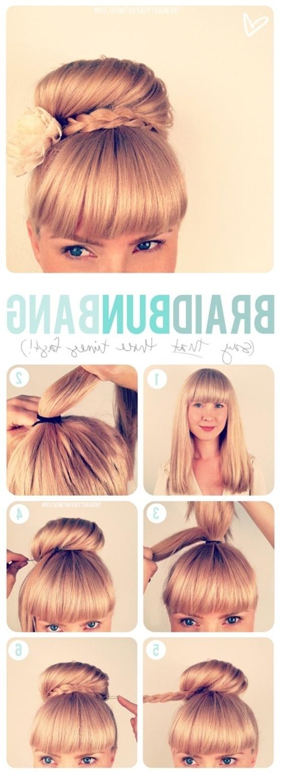 15 Braided Updo Hairstyles Tutorials – Pretty Designs Regarding Preferred Braided Updo With Curls (View 13 of 15)