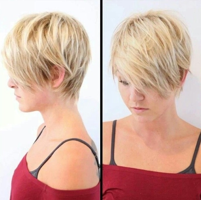 15 Trendy Long Pixie Hairstyles – Popular Haircuts Pertaining To Trendy Tapered Pixie Haircuts With Long Bangs (View 4 of 15)