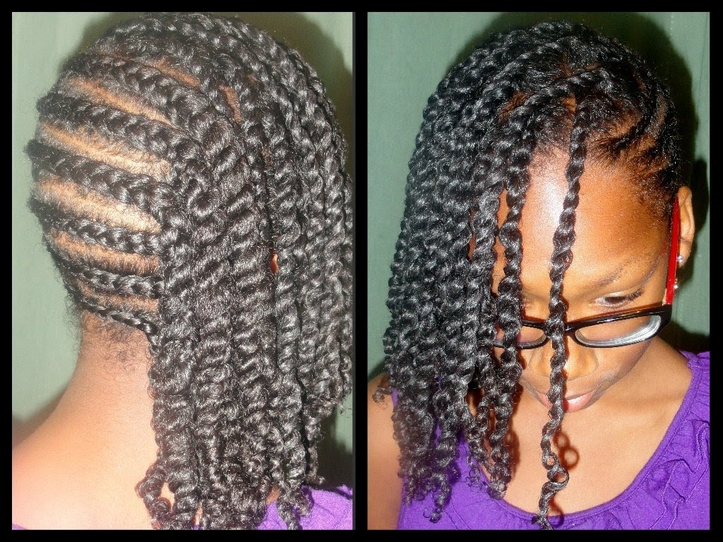 152 – Child Hair Care – Cornrows With A Swoop – Youtube For Popular Cornrows Hairstyles With Swoop (View 1 of 15)