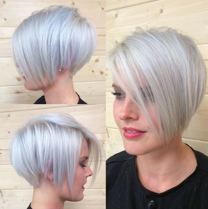 16 Edgy And Pretty Pixie Haircuts For Women – Pretty Designs Within Well Known Side Parted Silver Pixie Bob Haircuts (View 1 of 15)