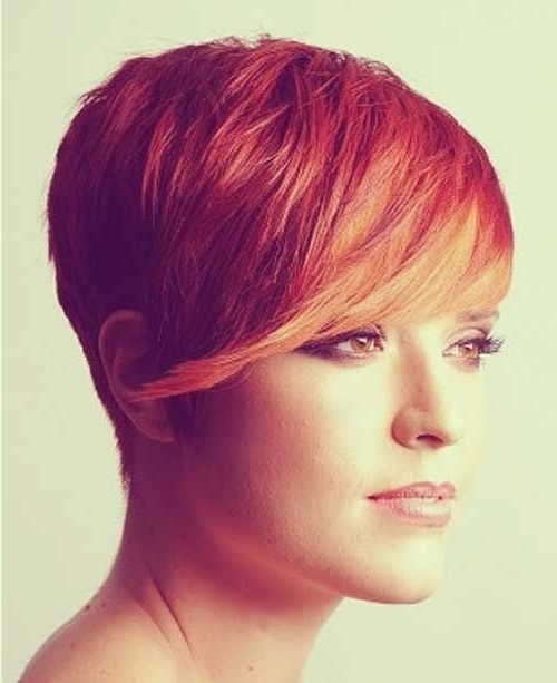18 Short Red Haircuts: Short Hair For Summer&winter – Popular Haircuts With Most Recently Released Shaggy Pixie Haircuts In Red Hues (View 2 of 15)