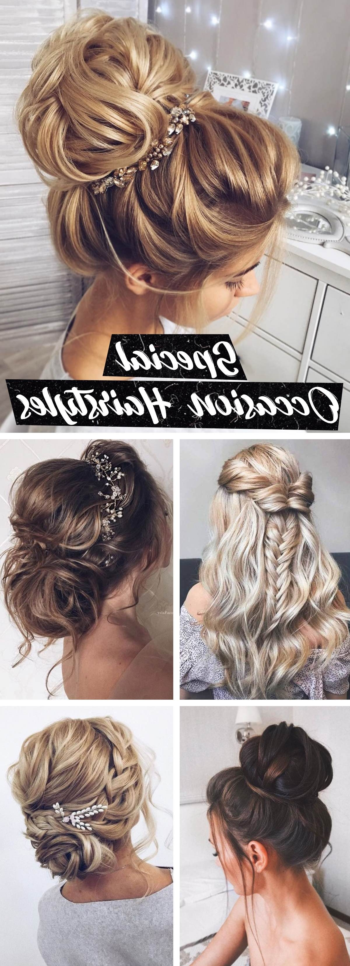 18 Special Occasion Hairstyles That Will Make You Enchant The Big Day! Throughout Best And Newest Braids And Waves For Any Occasion (View 15 of 15)