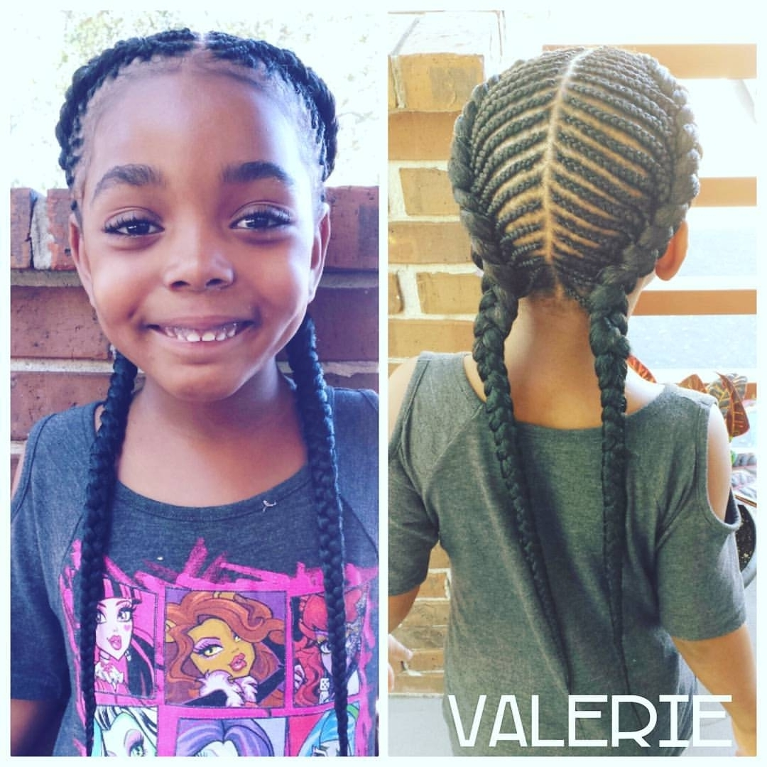 2 Cornrow Braids The Best Hairstyles Amazing Of Two Cornrows Inside Famous Two Cornrows Hairstyles (View 2 of 15)
