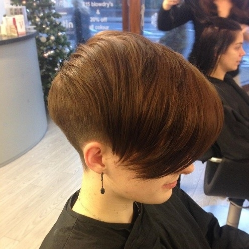 20 Chic Wedge Hairstyle Designs You Must Try: Short Haircut For Inside Popular Pixie Wedge Haircuts (View 4 of 15)