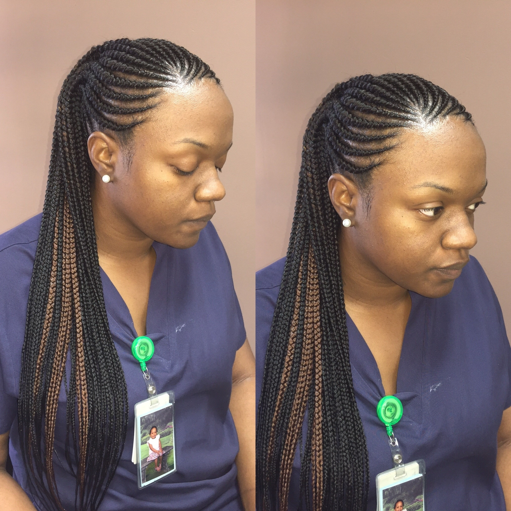 2017 Carrot Cornrows Hairstyles Pertaining To Awesome Collection Of Cornrow Hairstyles With Braids Excellent Corn (View 1 of 15)