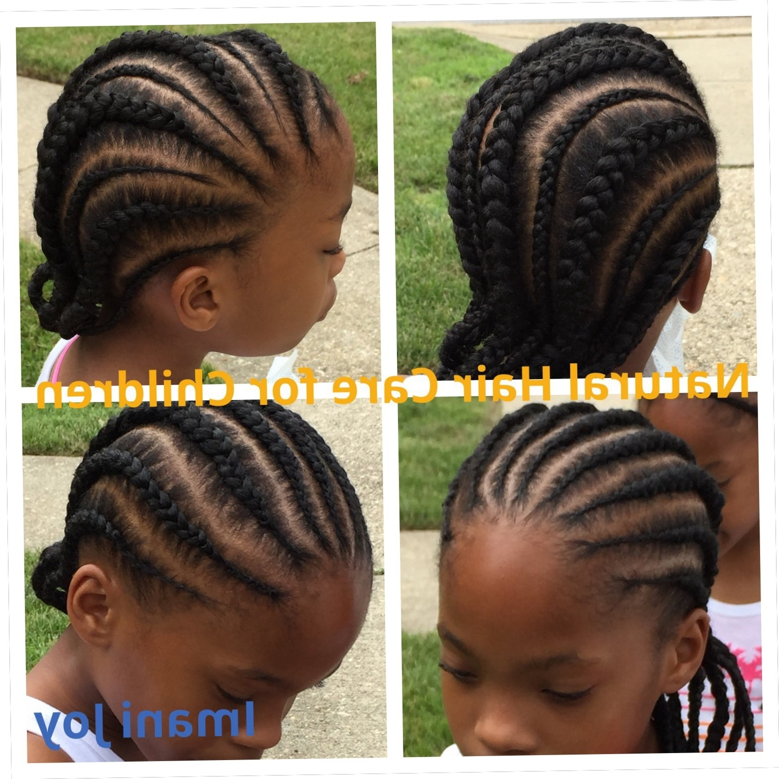 2017 Cornrows Hairstyles Going Back With Hairstyle Straight Back For Kids Straight Back Cornrows (View 2 of 15)