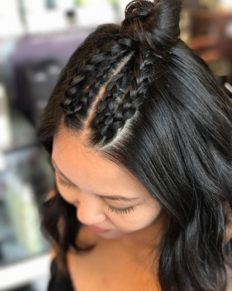 2017 French Braid Hairstyles Regarding Best French Braid Hairstyles That Add Flair To Your Look Of Plait (View 5 of 15)