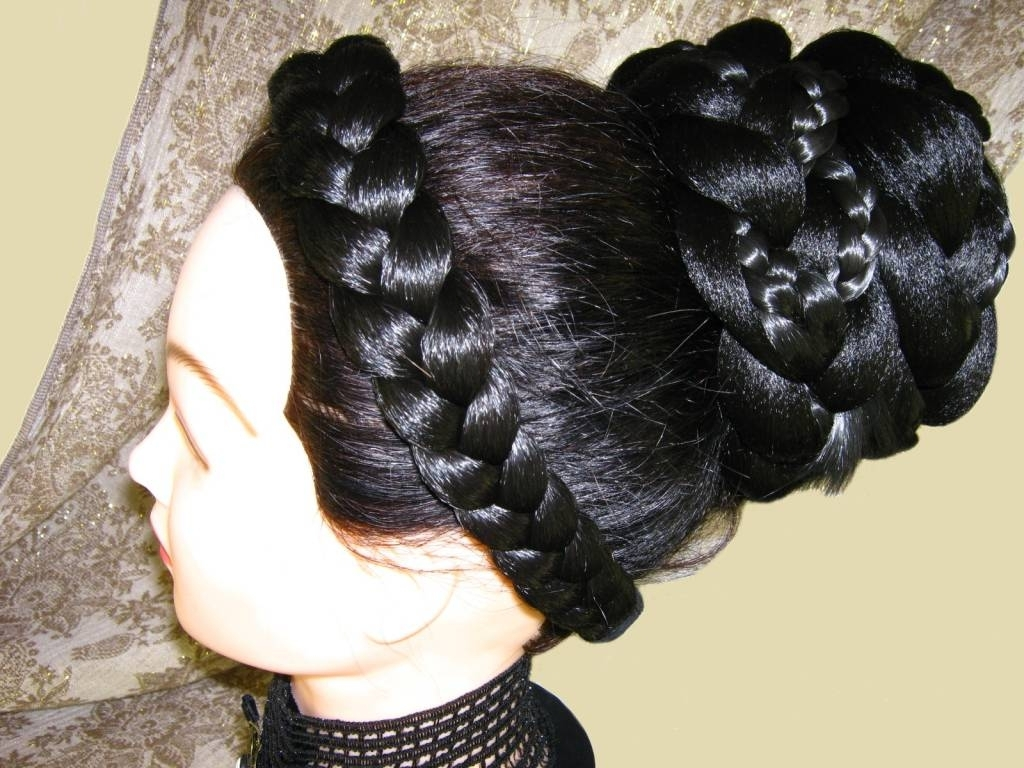 2017 Large Braided Updos For Fantasy Braid Extra, Made To Order Extension In All Hair Colors (View 1 of 15)