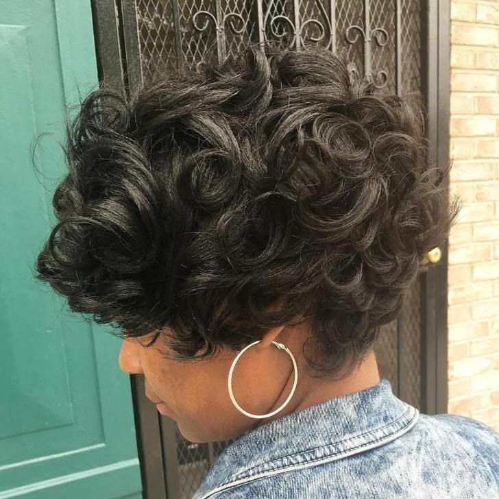 2017 Long Curly Pixie Haircuts Within 60 Gorgeous Long Pixie Hairstyles (View 5 of 15)