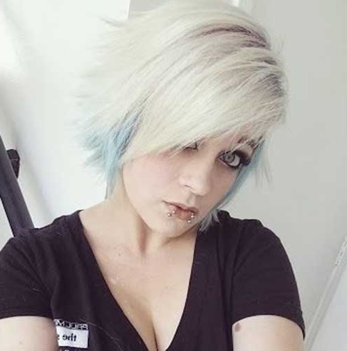 2017 Rocker Pixie Haircuts In Stylish New Punk Pixie Cuts For Girls (View 2 of 15)
