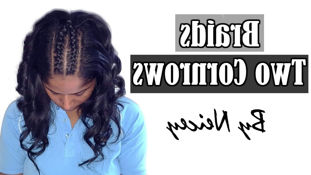 "2017 Two Cornrow Boxer Braids Inside Two Cornrows Hairstyle ""boxer Braids"" French Braid/dutch Braid (View 1 of 15)"