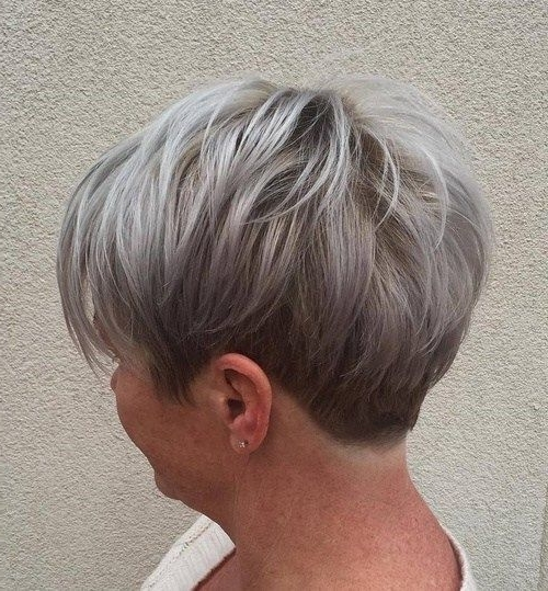 "[%2018 Ashy Blonde Pixie Haircuts With A Messy Touch Regarding 50 Edgy, Shaggy, Messy, Spiky, Choppy Pixie Cuts [ ""short Ash Blonde