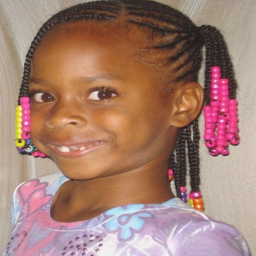 2018 Cornrows Hairstyles For Little Girl Inside Little Girl Hairstyles Black Braiding Hairstyle Pictures Plus With (View 2 of 15)