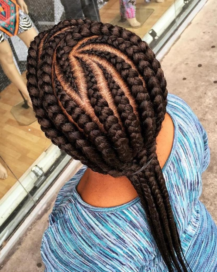 2018 Long Curvy Braids Hairstyles For 70 Best Black Braided Hairstyles That Turn Heads (View 4 of 15)