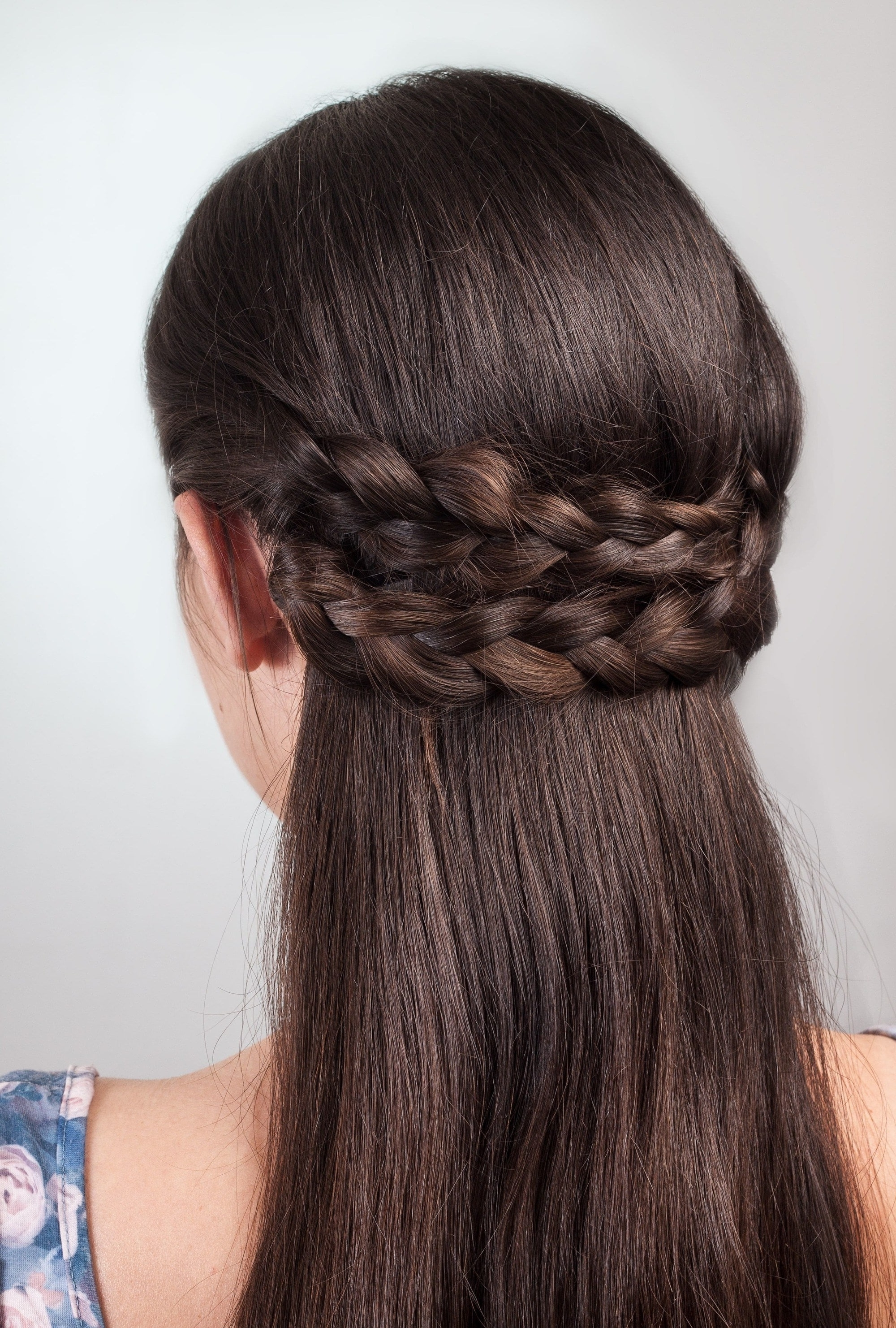 2018 Pair Of Braids With Wrapped Ponytail Inside Wedding Braids And Wedding Hair Trends To Inspire Your Hairstyle (View 15 of 15)