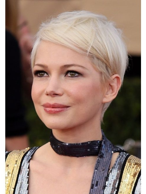 2018 Sassy Pixie For Fine Hair Inside Best Short Haircuts For Fine Hair (View 2 of 15)