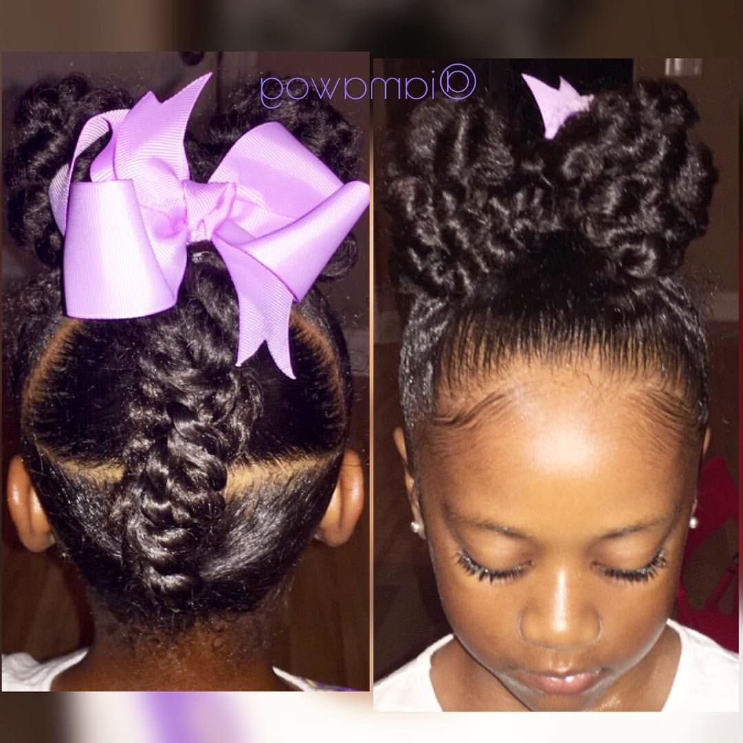 205 Likes, 17 Comments – D'asia & Rylei Kai (@iamawog) On Instagram With Regard To Favorite Revamped Braided Ponytail (View 4 of 15)