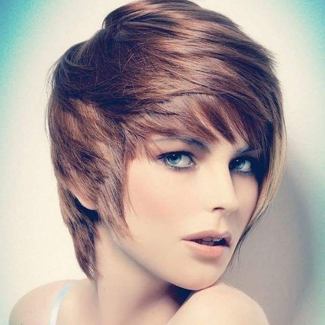 21 Flattering Pixie Haircuts For Round Faces – Pretty Designs Pertaining To Fashionable Asymmetrical Long Pixie For Round Faces (View 4 of 15)