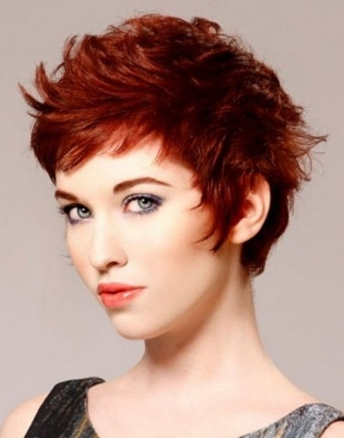 22 Cool Short Pixie Hair Cuts For Women 2015 – Pretty Designs Inside Latest Reddish Brown Layered Pixie Bob Haircuts (View 7 of 15)