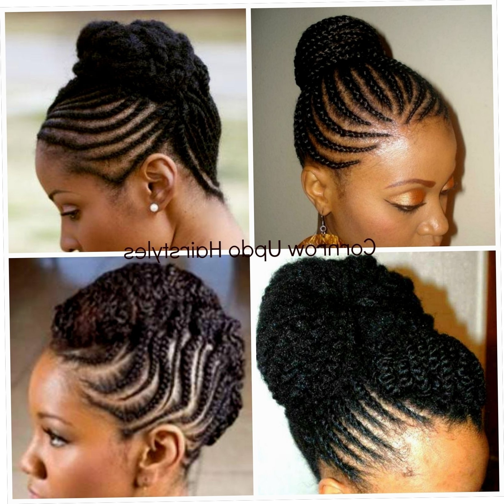 23+ Style Cornrows Hairstyles For African Hair 2018 Regarding Preferred Cornrows Hairstyles For African Hair (View 2 of 15)
