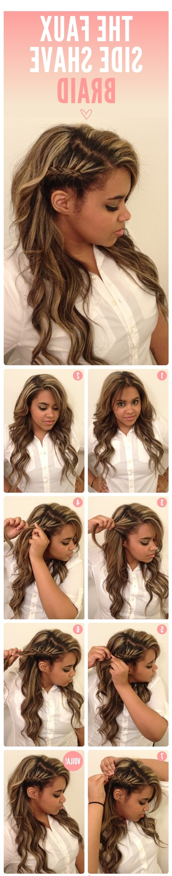 25 Diy Braided Hairstyles You Really Have To Pin Intended For Trendy Pinned Up French Plaits Hairstyles (View 3 of 15)
