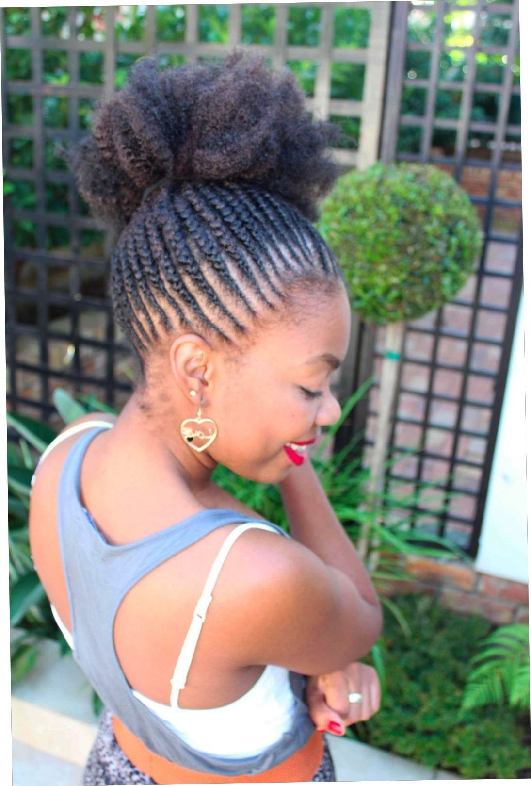 25+ Good Cornrow Styles Without Weave 2018 – Straightuphairstyle Throughout Favorite Cornrows Hairstyles Without Weave (View 2 of 15)