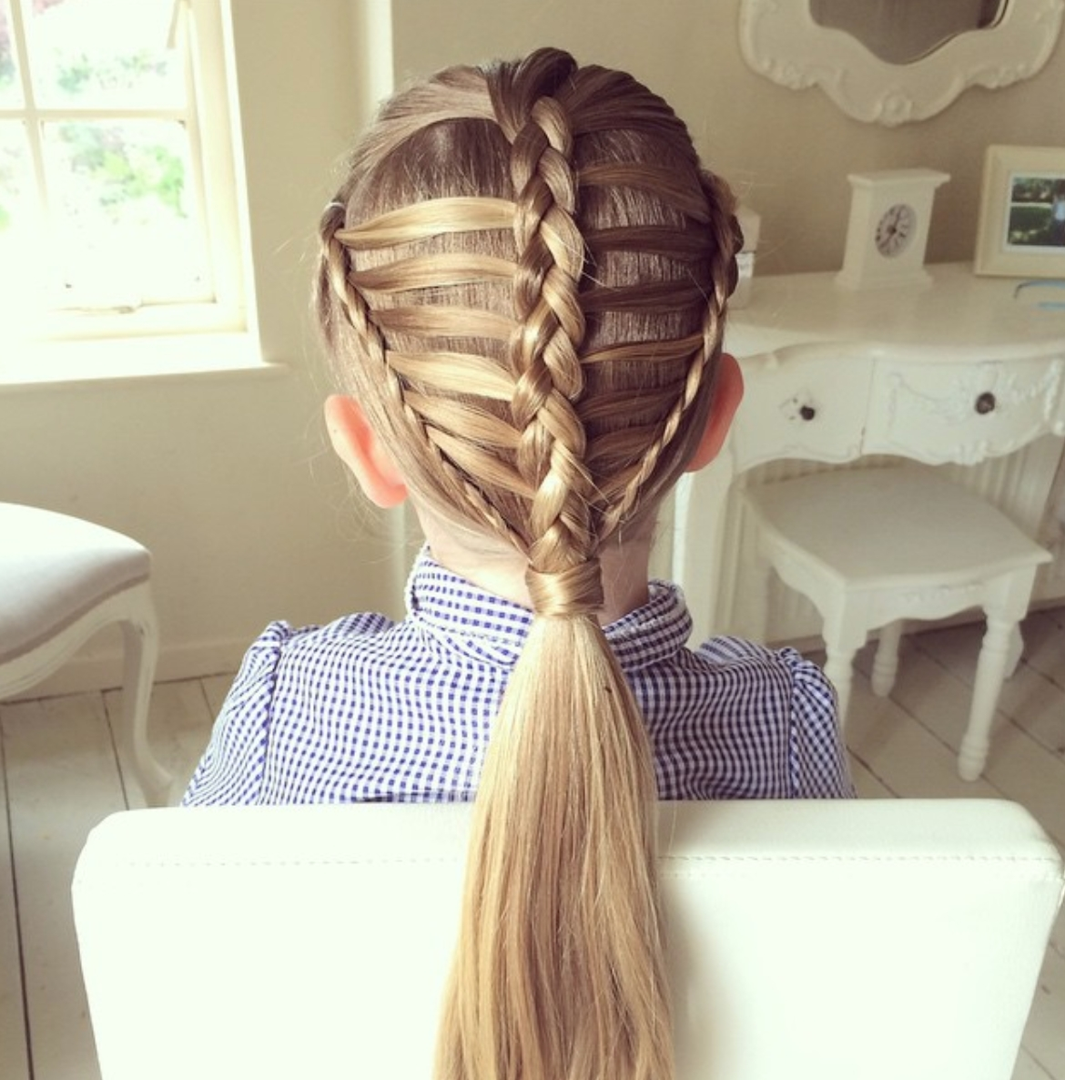25 Gorgeous Ladder Braid Hairstyles (View 15 of 15)