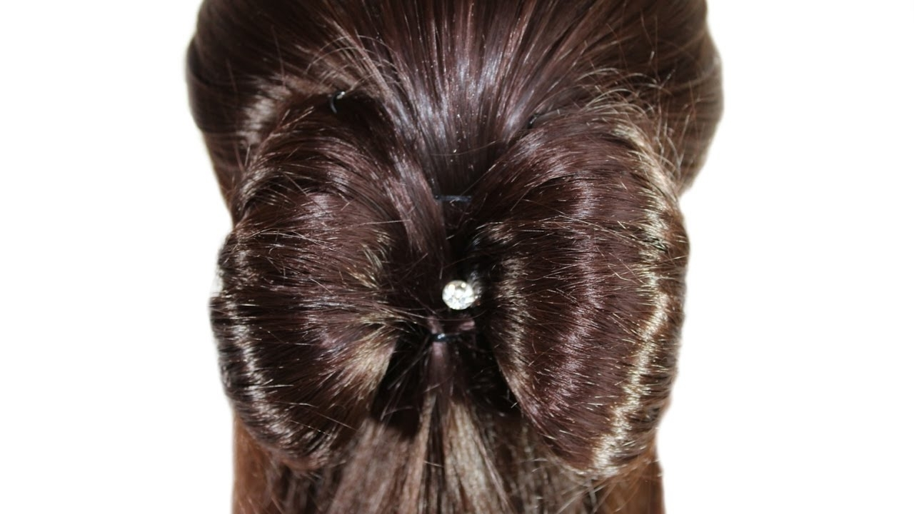 3 Cute Hair Bow Styles With 65 Beautiful Examples Within Popular Elegant Bow Braid Hairstyles (View 2 of 15)
