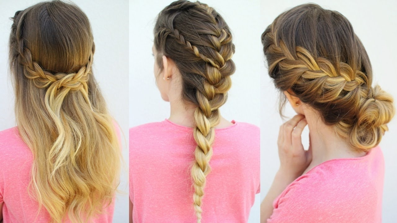 3 French Braid Hairstyles (View 2 of 15)