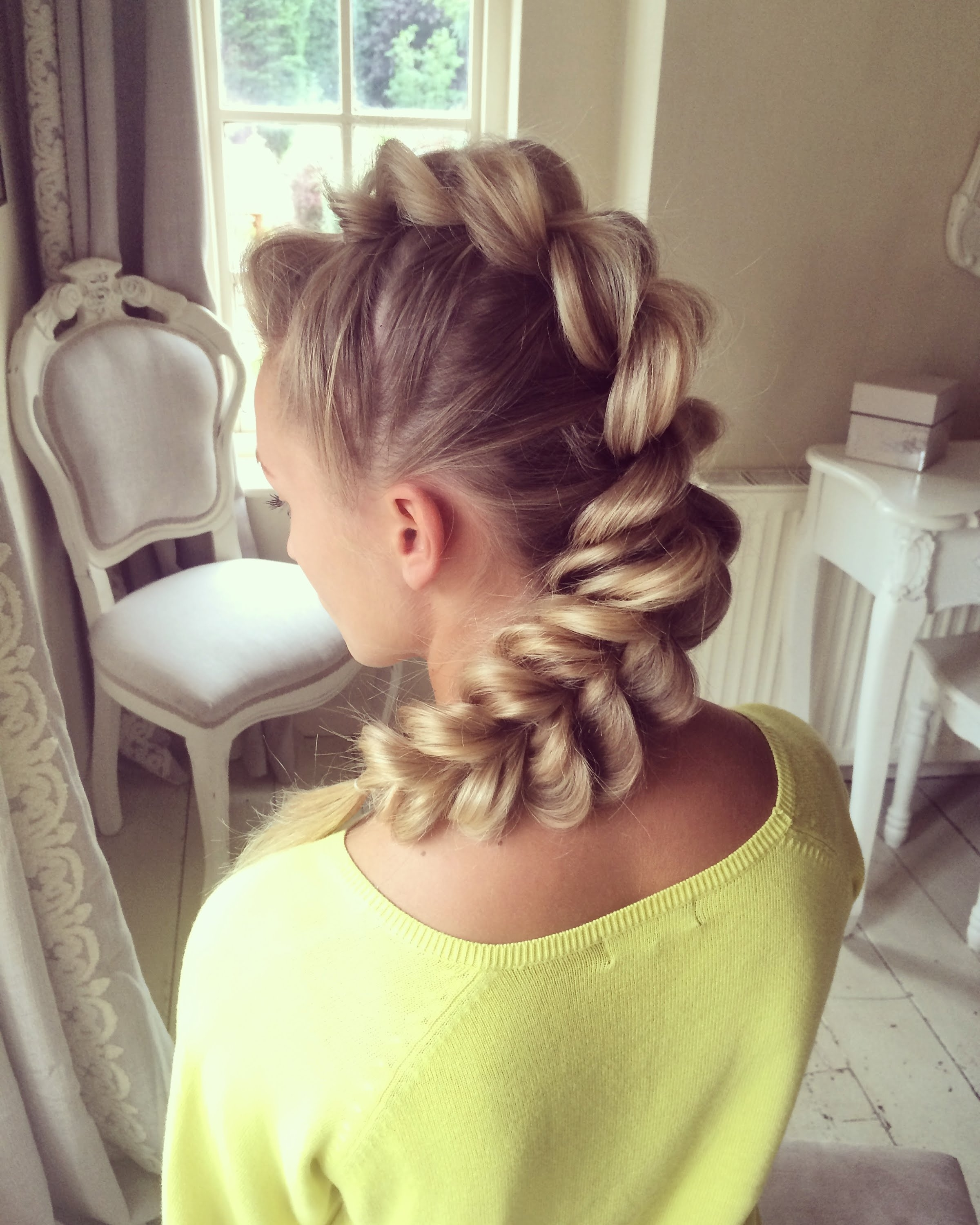 30 Braided Mohawk Styles That Turn Heads For Latest Mohawk French Braid Hairstyles (View 2 of 15)