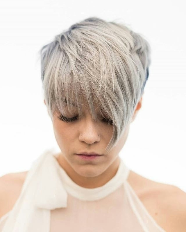 30 Chic Pixie Haircuts – Best Pixie Cuts We Love For 2017 For Current Finely Chopped Buttery Blonde Pixie Haircuts (View 11 of 15)