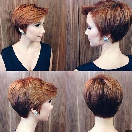 30 Hottest Pixie Haircuts 2018 – Classic To Edgy Pixie Hairstyles Regarding Newest Reddish Brown Layered Pixie Bob Haircuts (View 2 of 15)