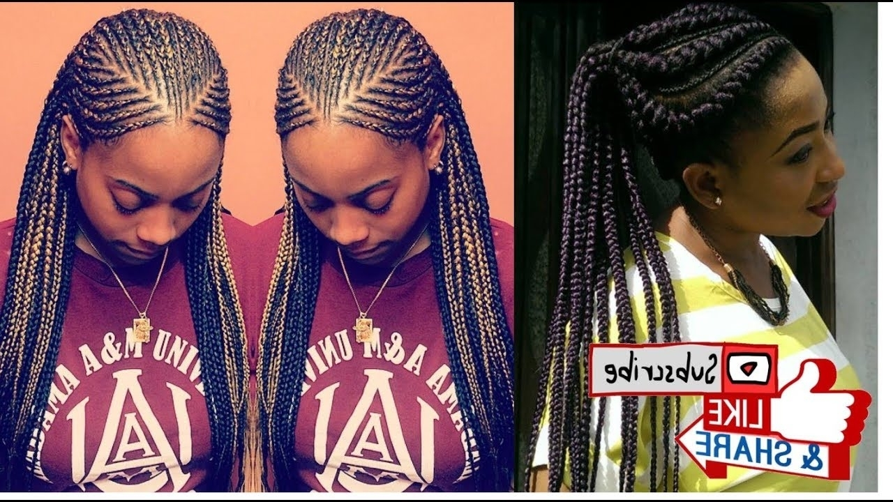 31 Best Protective Ghana Braids Hairstyles To Rock With. (View 3 of 14)