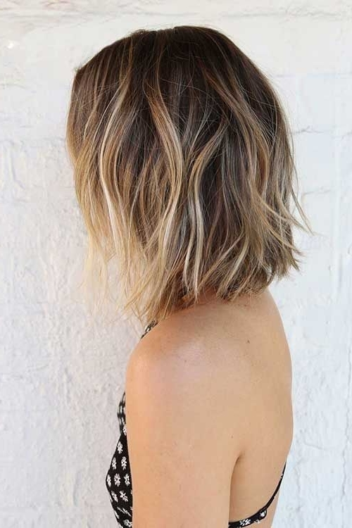 35 Balayage Styles And Color Ideas For Short Hair With Most Current Shaggy Pixie Haircuts With Balayage Highlights (View 2 of 15)